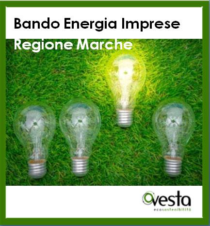 immagine di Bando Energia Imprese - Regione Marche